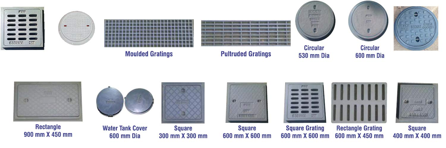 Frp Manhole Covers Manufacturers Drain Covers Gratings